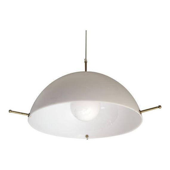 1960s Swedish Modern Pendant Light