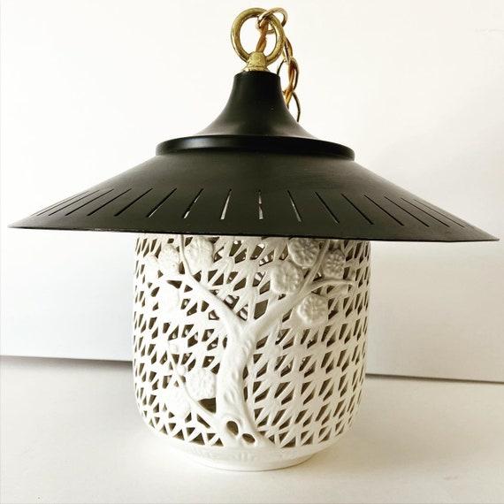 Blanc de Chine Pagoda Pendant Light