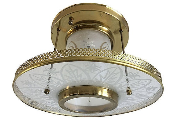 Frosted Glass Ceiling Light