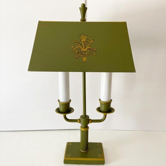 Neoclassical Bouillotte Lamp