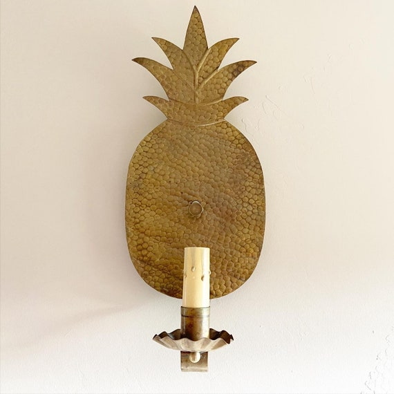 Midcentury Pineapple Sconce