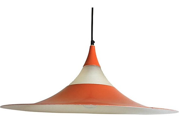 1960s Semi Pendant Chandelier by Fog & Morup