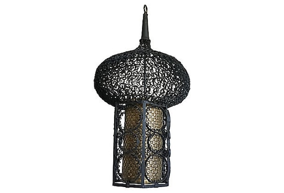 French Moroccan Pendant Light