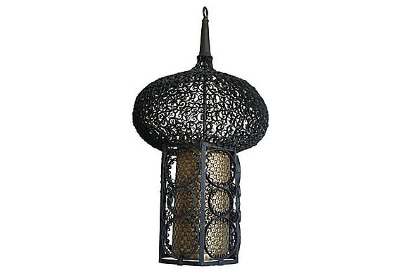 French Moroccan Pendant Light