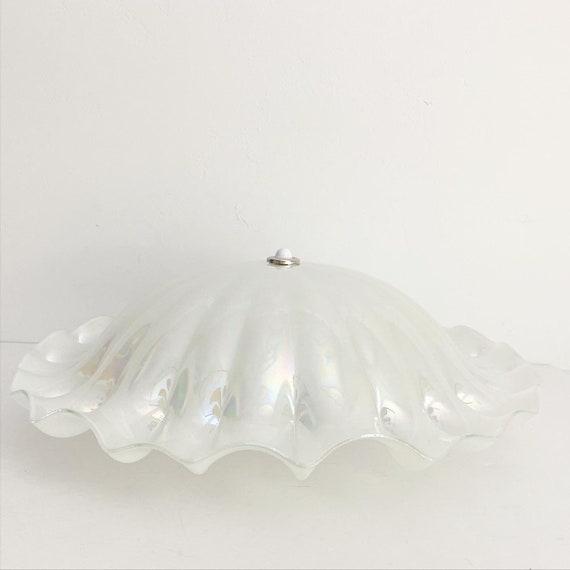 Clam Shell Flush Light