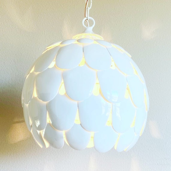 1960s Modern Petals Pendant Light
