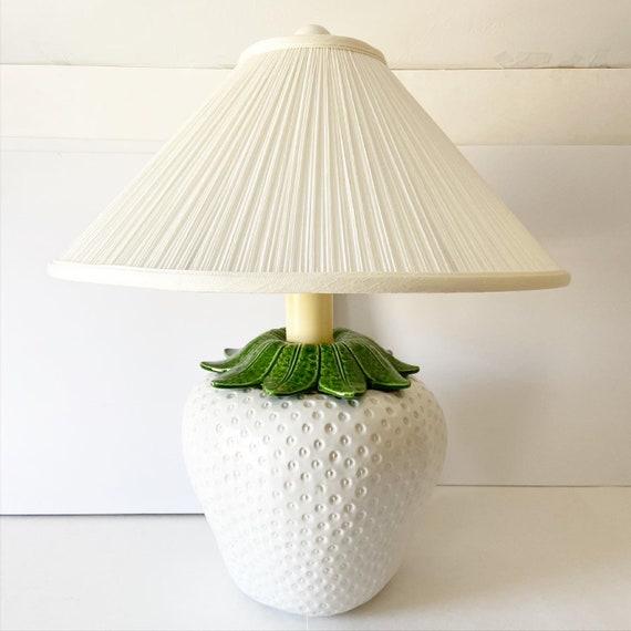Italian Strawberry Lamp & Shade