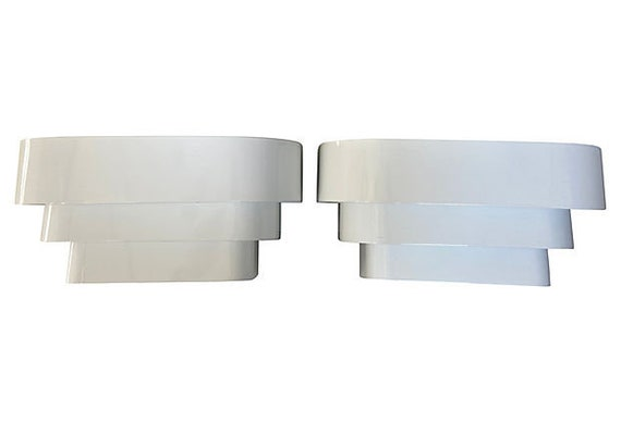 1960s Modern Wall Lights - a Pair