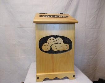 potato or vegetable storage bin