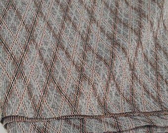 Diamond Shaped Polyester Fabric  (2 1/2 Yards)