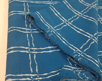 Vintage Polyester Fabric (3 1/2 Yards)