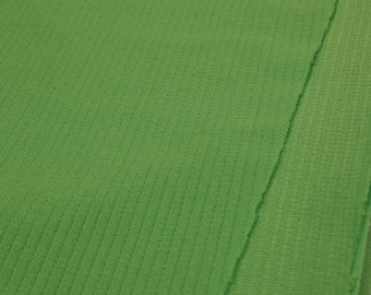 Vintage Lime Green Polyester Fabric  (1 1/2 Yards)