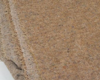 Tan Poly Cotton Blend Fabric  (2 1/2 Yards)