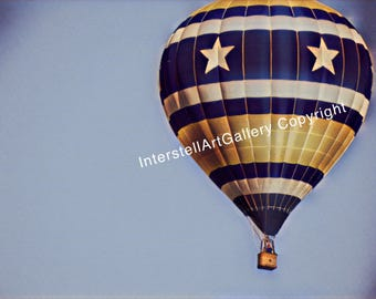 Hot air balloon vintage