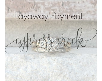 Final Layaway Payment for D~ No longer available for purchase ~ Due 10/26