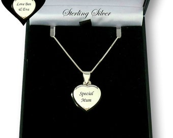 iPt.nyc Personalized Photo Necklace Customized Heart Photo Pendant Necklace Photo Charm Sterling Silver