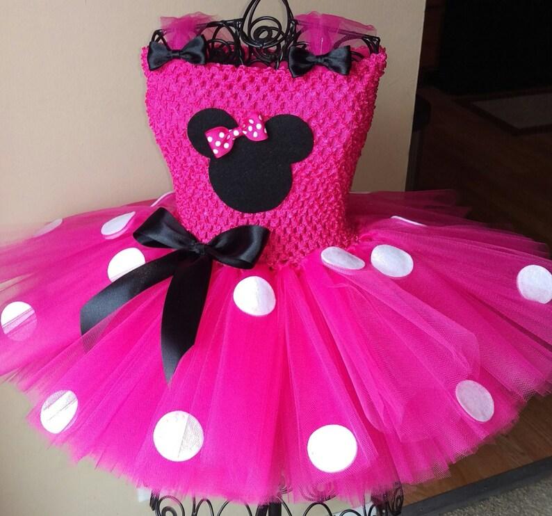 ea71b0d26 SALE Minnie Mouse Tutu Dress   Etsy