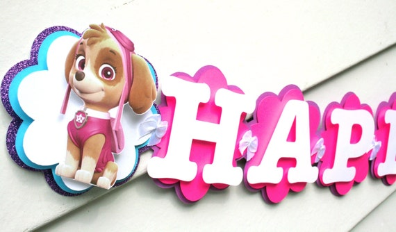 Paw Patrol Birthday Decorations Skye Party