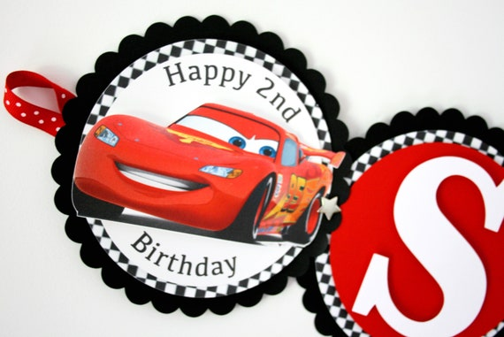 Cars Birthday Decorations Themed