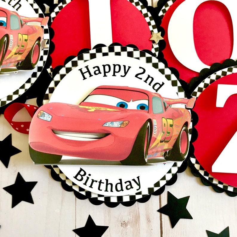 Cars Birthday Decorations