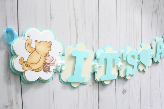 Classic Bear Decorations , Baby Shower Decorations , Winnie The Pooh Baby  Shower , Classic Pooh Party Supplies