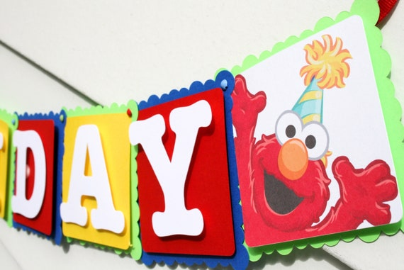 Elmo Birthday Decorations