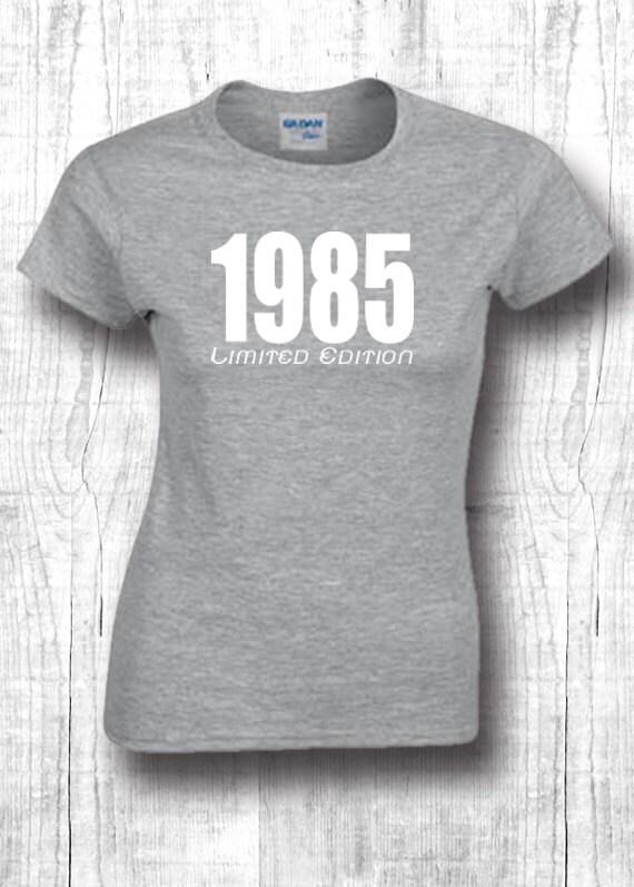 33e anniversaire cadeau – chemises 1985 t-shirts – cadeau 33e chemises personnalisées 33e papa t-shirts 33e cadeau personnalisé de 1985 idée t shirts 33 anniversaire cadeau 157 a6a0a5