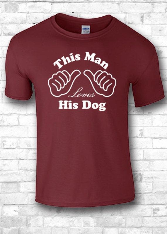 Perro Chico Sus Este Camiseta Su Hombre A Ama Etsy De xFTwqH1wOa