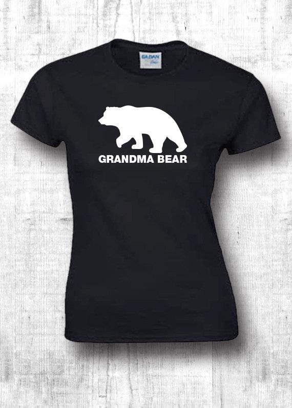 2dc4ef62 Grandma Bear Shirt Women's Shirt Grandma Bear T Shirt Grandma gifts Grandma  Shirt Grandma birthday gifts tumblr shirts 379