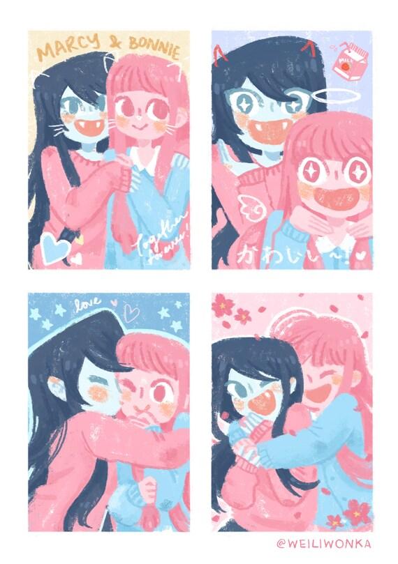 Prinsessa Bubblegum ja Marceline dating