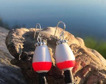 Fishing Cork Earrings
