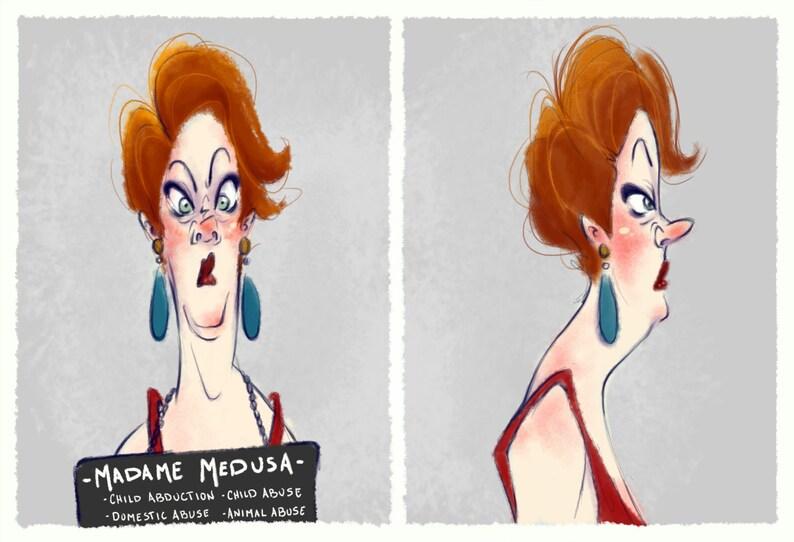 Villain Mugshots Madame Medusa image 0