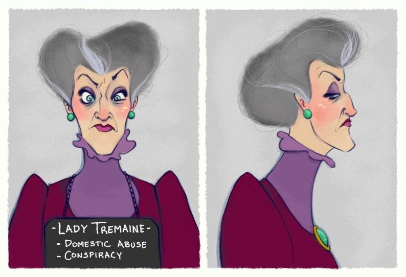 Villain Mugshots Lady Tremaine image 0