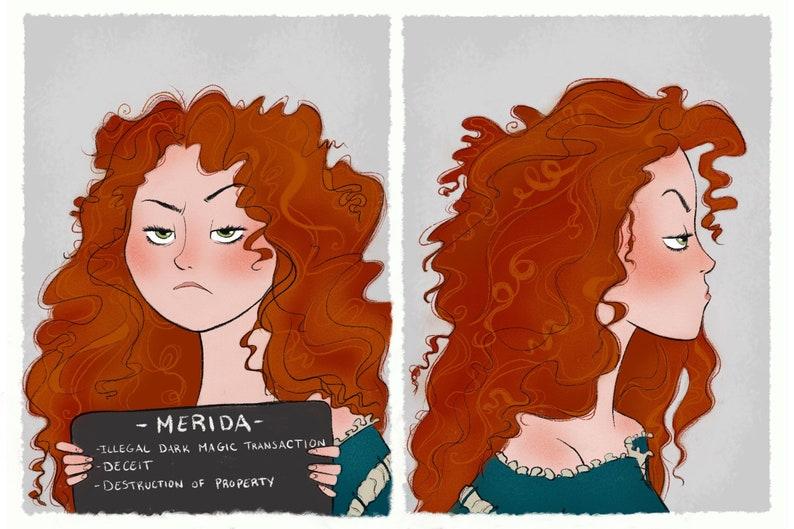 Princess Mugshots Merida image 0