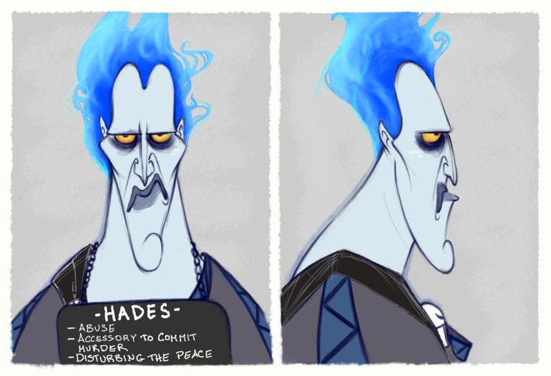 Villain Mugshots Hades image 0