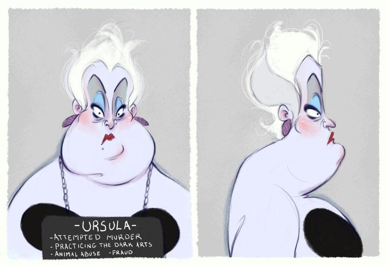 Villain Mugshots Ursula image 0