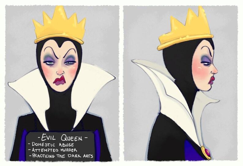 Villain Mugshots Evil Queen image 0
