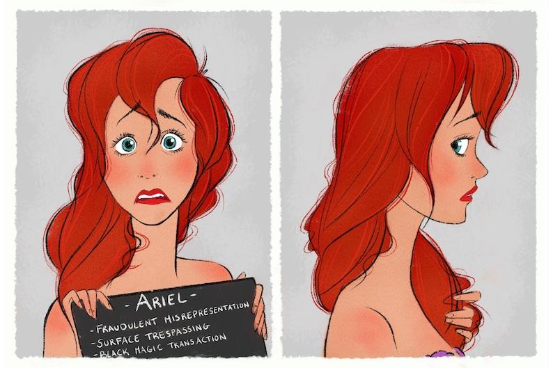 Princess Mugshots Ariel image 0