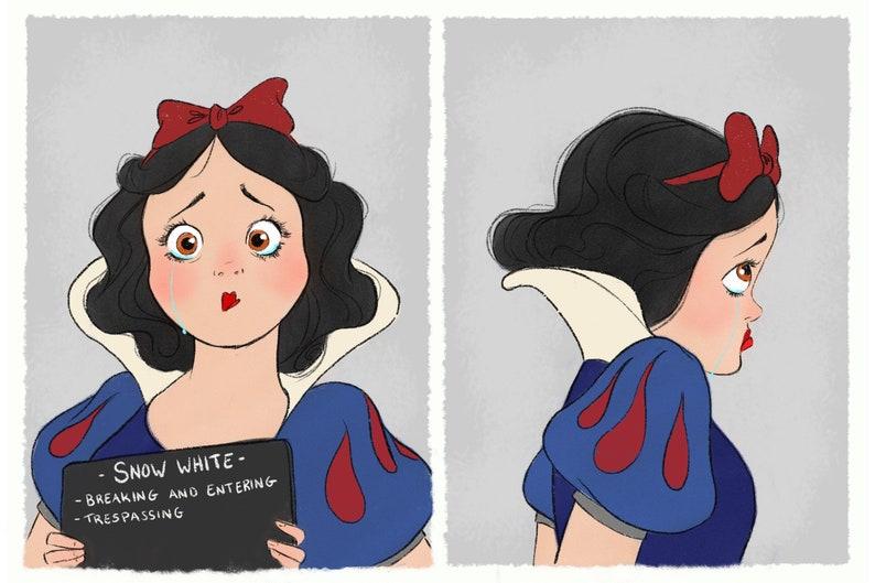 Princess Mugshots Snow White image 0