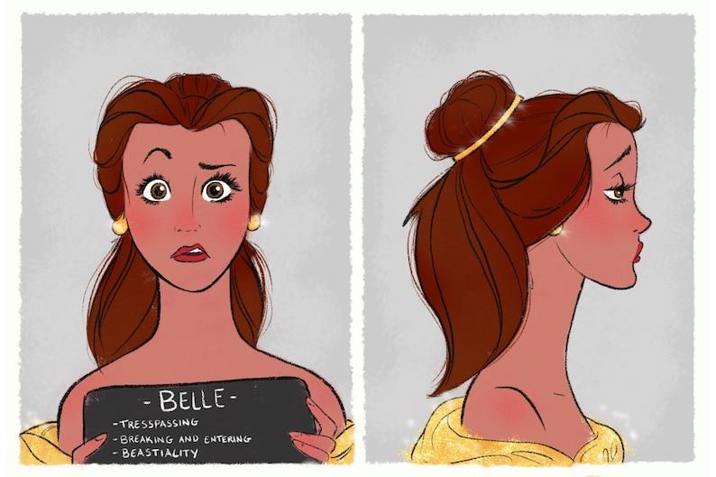 Princess Mugshots Belle image 0