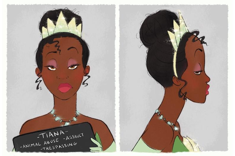 Princess Mugshots Tiana image 0