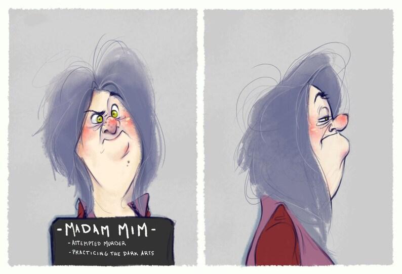 Villain Mugshots Madam Mim image 0