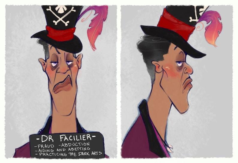 Villain Mugshots Dr Facilier image 0