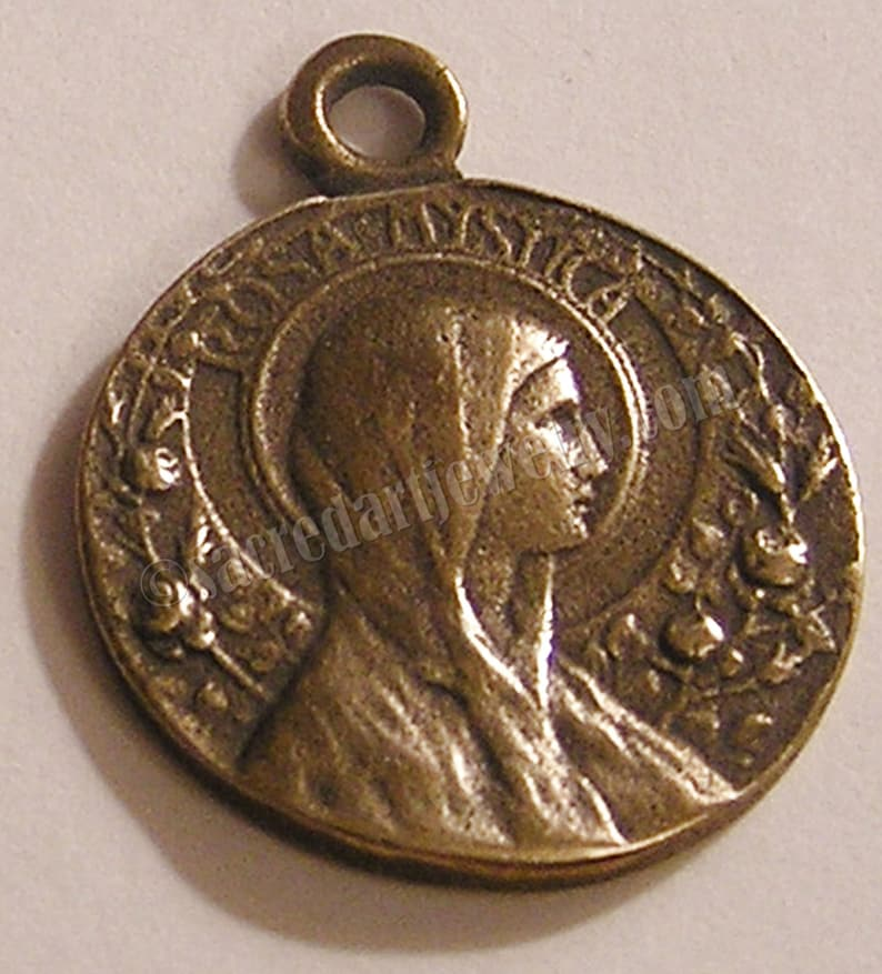 Rosa Mystica Medal Notre Dame 1