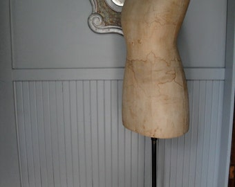 Vintage dress form mannequin store display