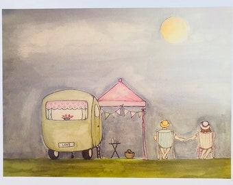 Evening Sun by Sarah Hudson-Duncan