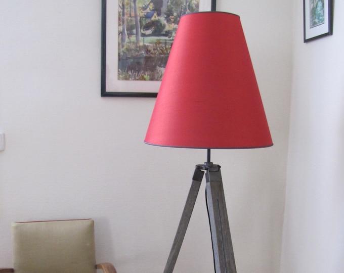 Cherry red design floor lamp