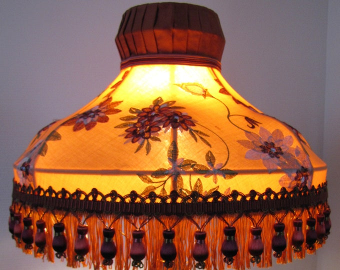 Chinese dome lamp