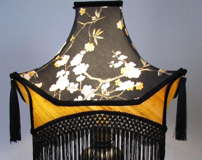 Chinese pagoda lamp