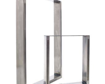 Dining Table & Bench Pedestals in Industrial Steel